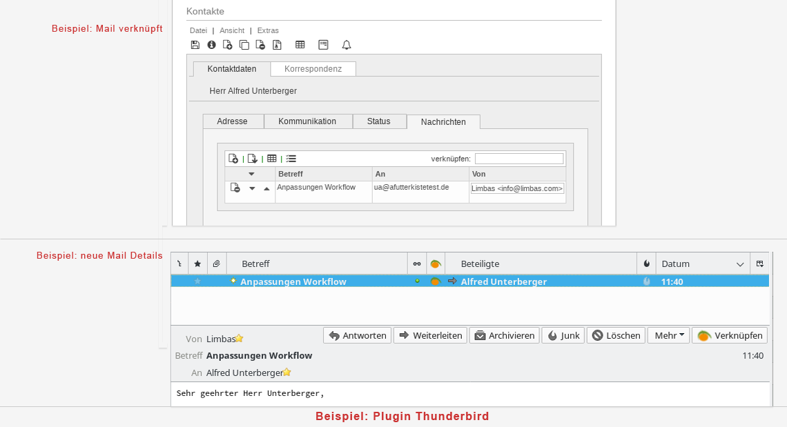 Plugin Thunderbird